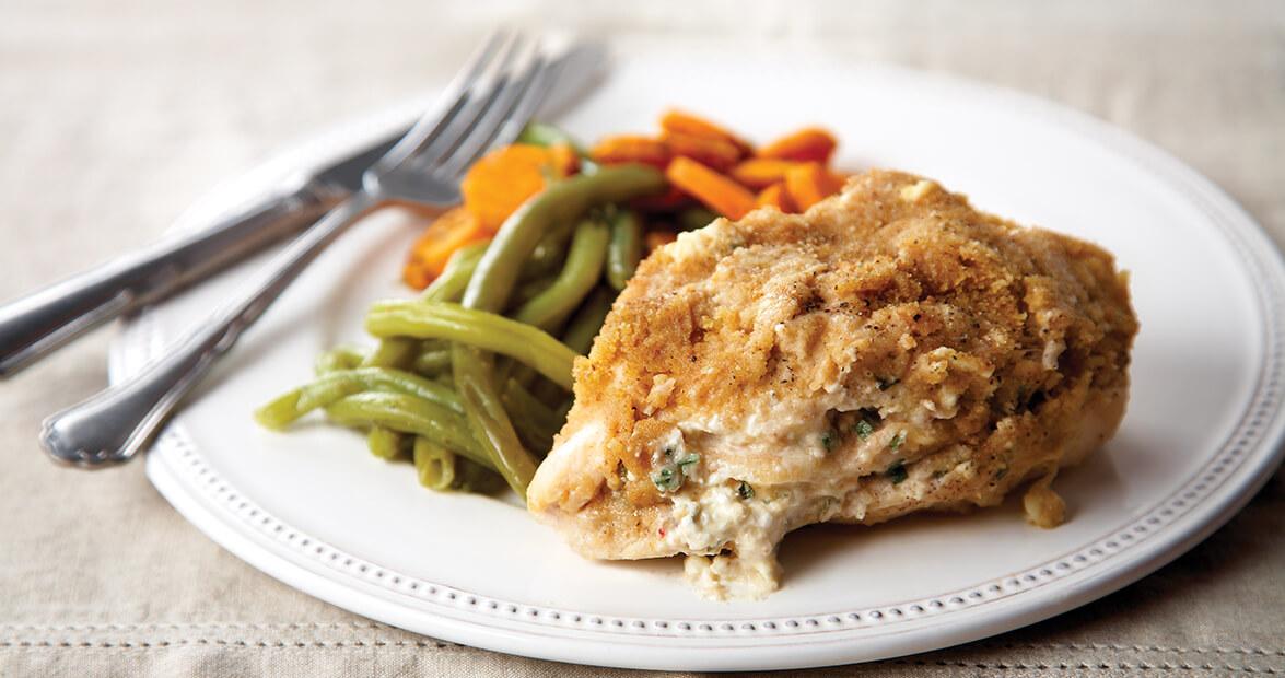 Apple-Stuffed Chicken Breasts Recipe