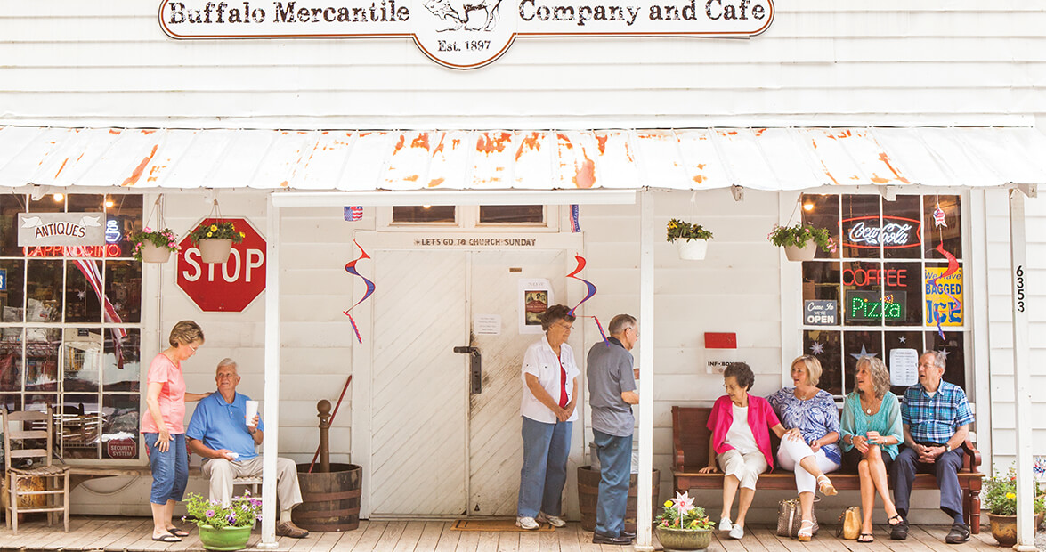 Relish the Past and Present at Buffalo Mercantile Company & Café