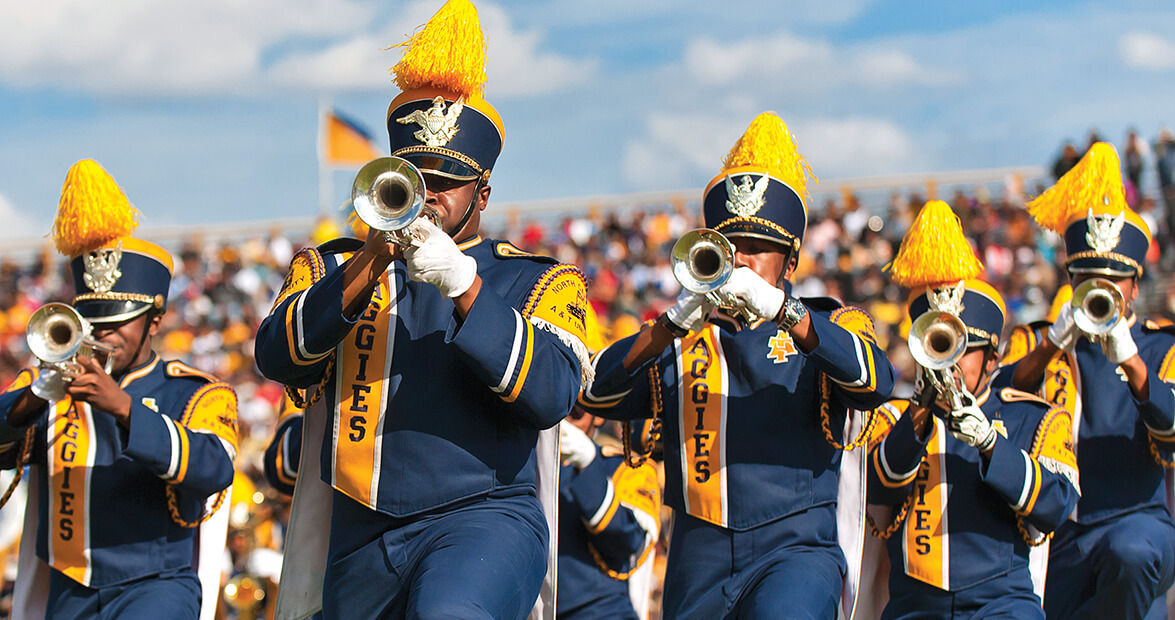 NC A&T's Marching Band is a Machine Built on Tradition