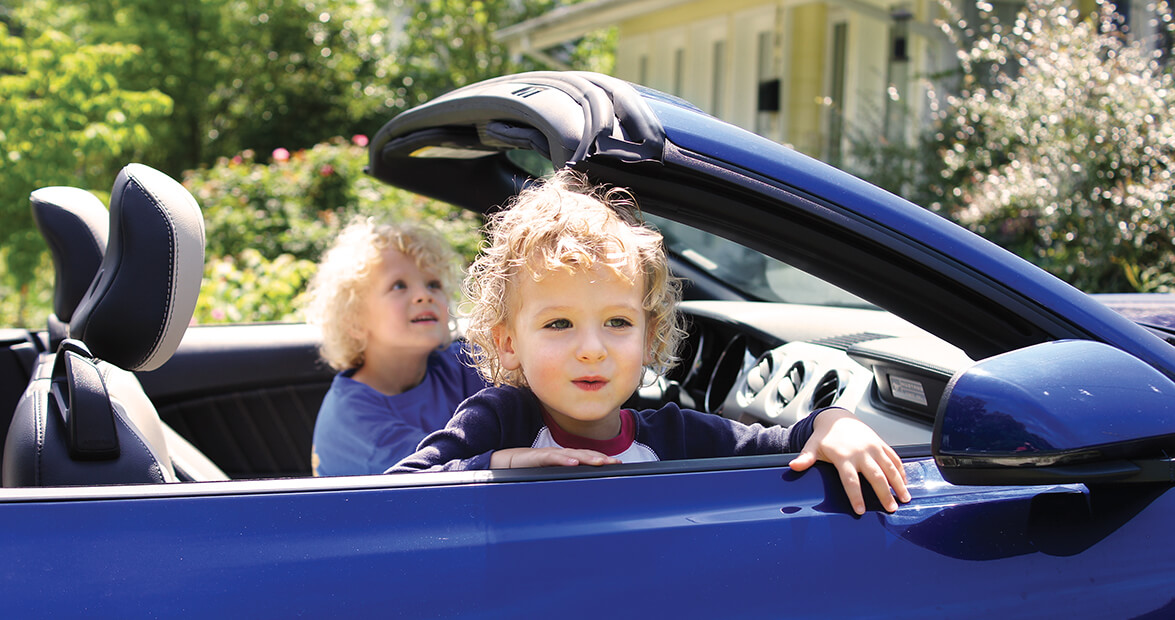 Family Tradition: Saturday Drive
