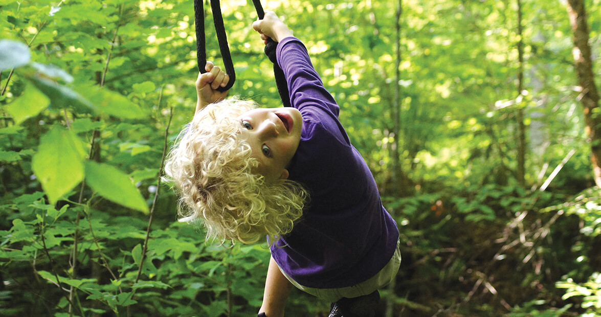 Family Tradition: The Swing of Things