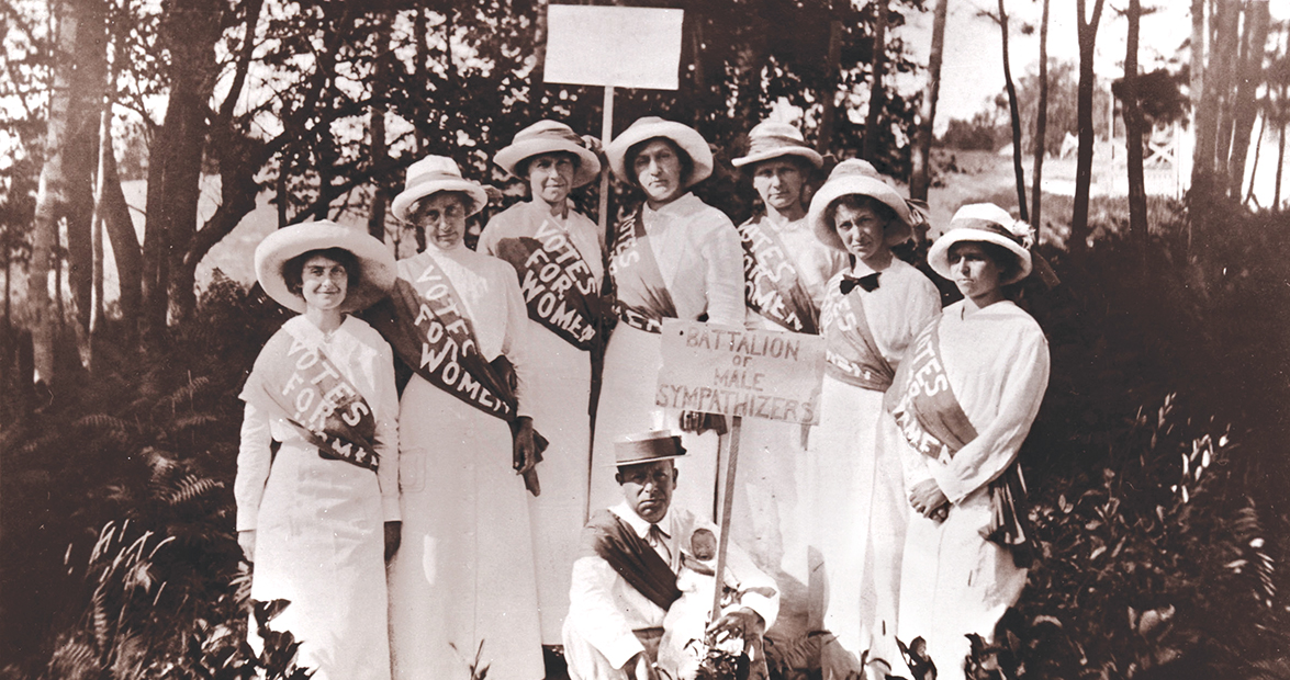 North Carolina Suffragettes' Crusade to Cast a Ballot