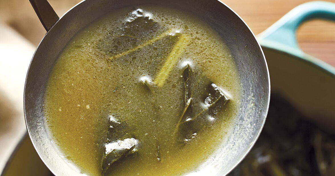 Potlikker is Collards' Green Goodness