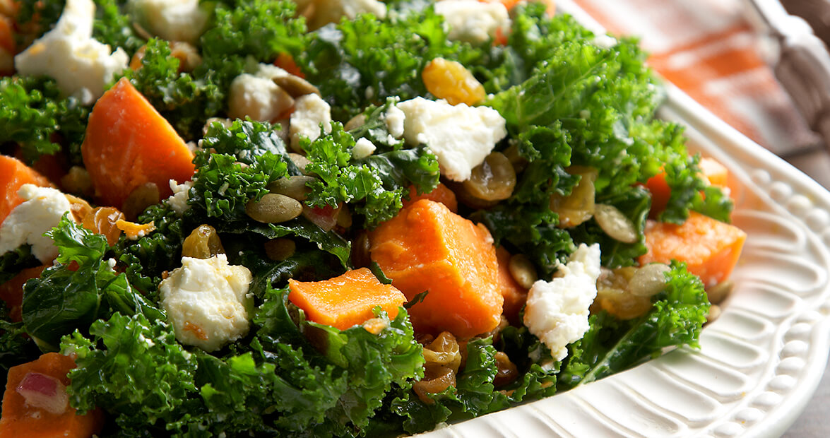 Kale And Sweet Potato Salad Recipe Our State Magazine