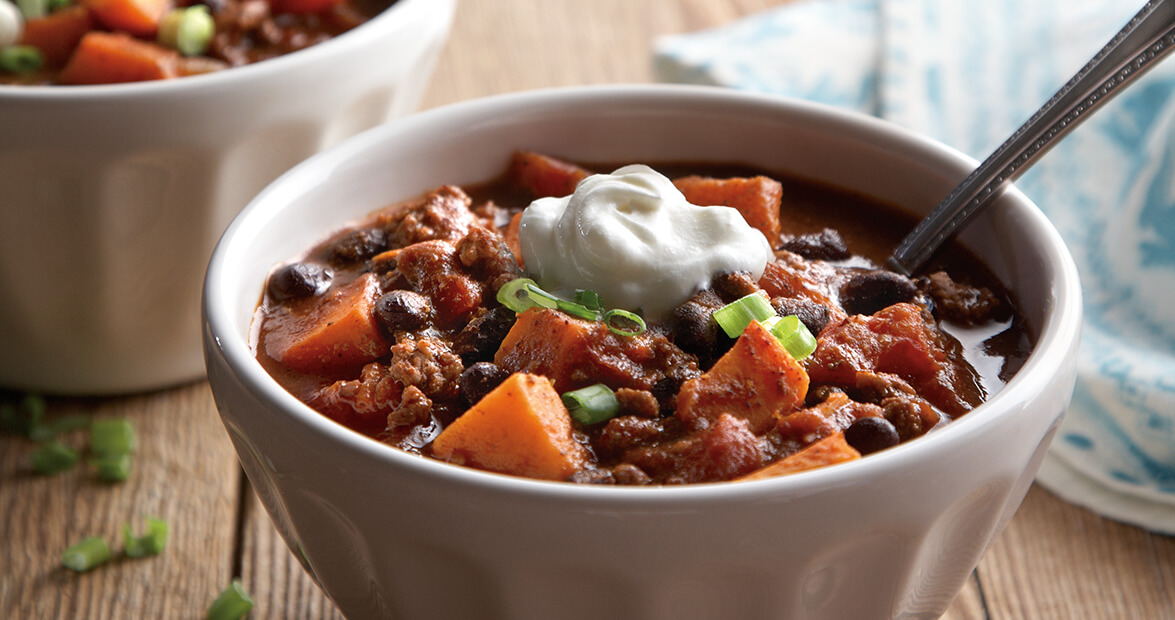 Sweet Potato and Black Bean Chili Recipe – Our State Magazine