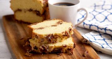 Pecan Crunch Coffee Cake Recipe