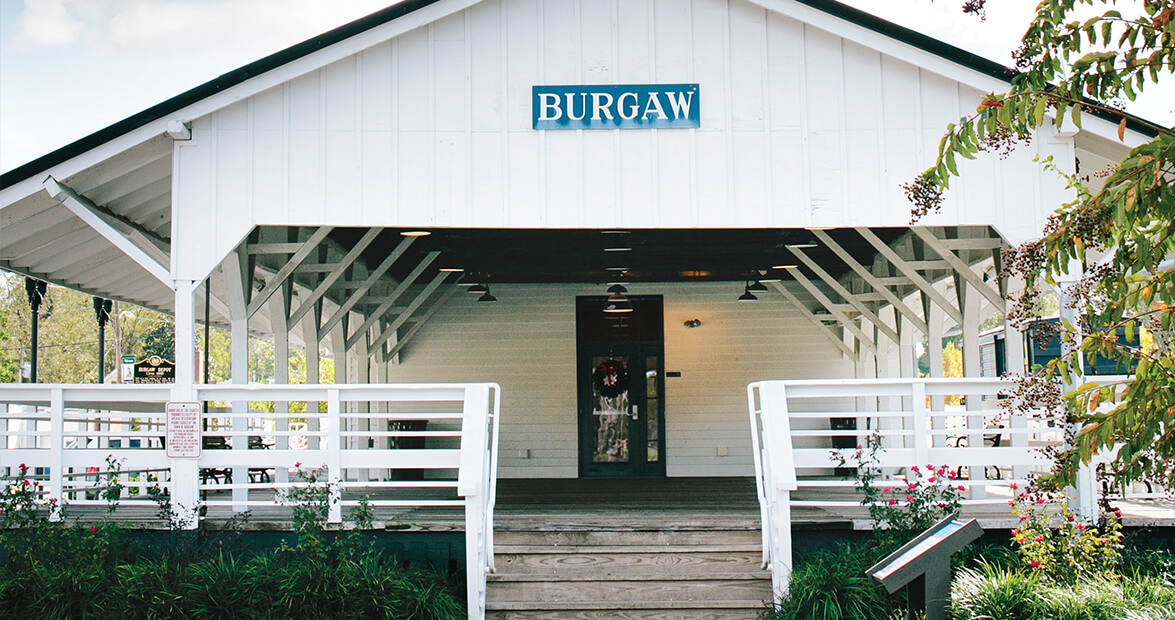 Historic Burgaw Depot is Pender County's Local Landmark