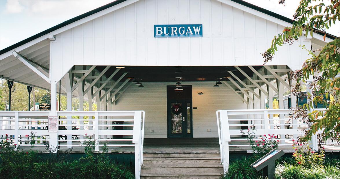 Historic Burgaw Depot is Pender County's Local Landmark