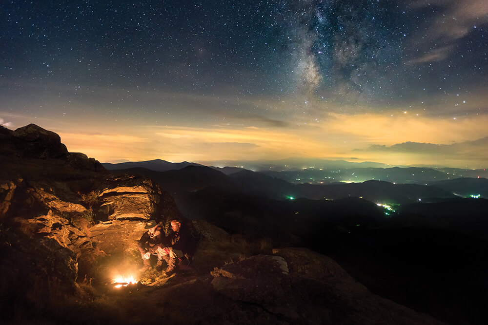 Ramblin' Man: Studying North Carolina's Starry Winter Sky