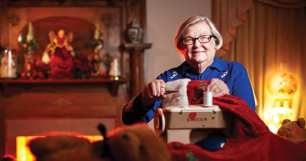 High Point Seamstress Brings Santa to Life