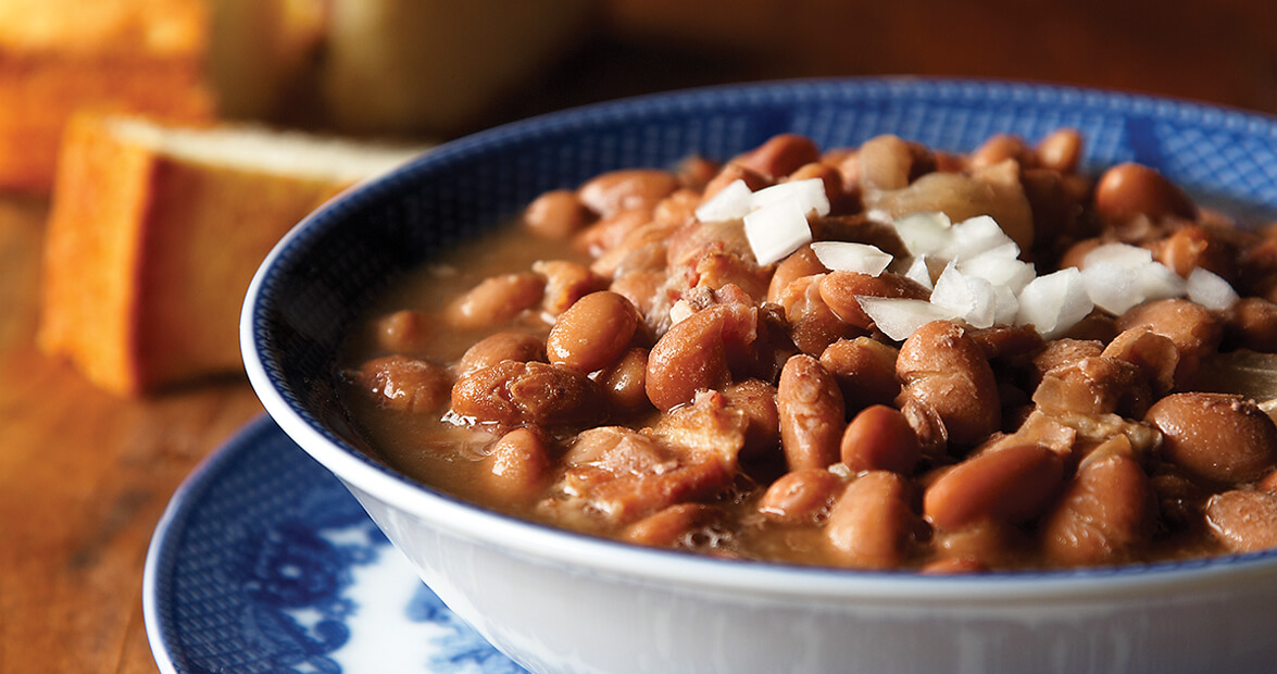 Pintos and Onions Recipe