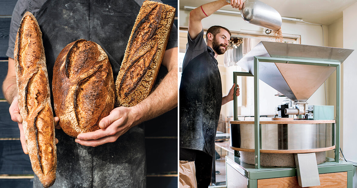 Boulted Bread in Raleigh Bakes with Tradition