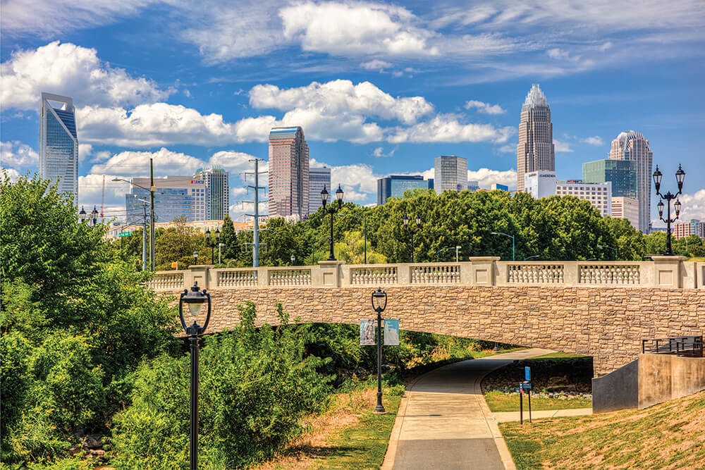 Where & How to Take the Perfect Charlotte Skyline Photo | Our State