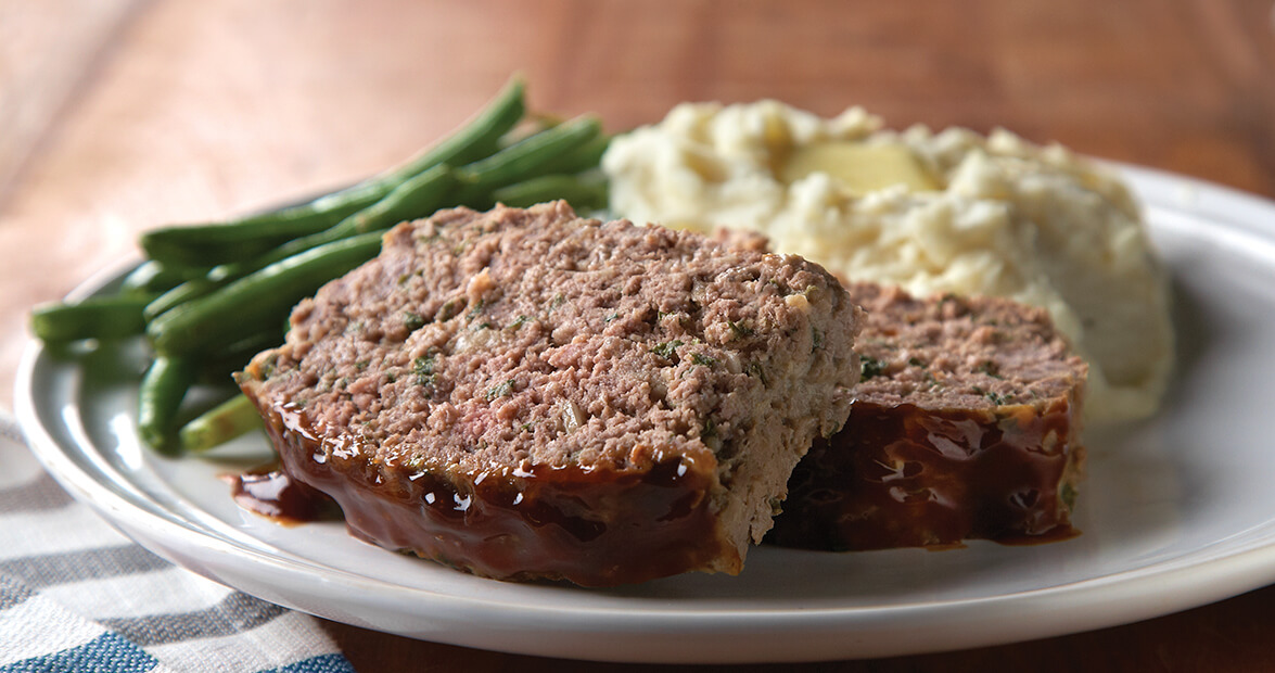 Glazed Meat Loaf Recipe