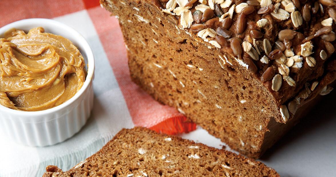 Molasses Soda Bread with Molasses Butter