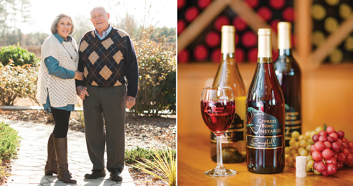 Cypress Bend Vineyards Honors Sweet NC Wine