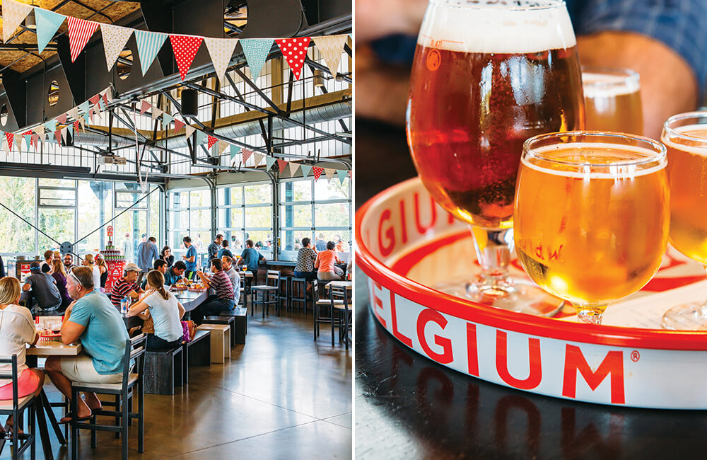 New Belgium Brewery Finds a Place in West Asheville