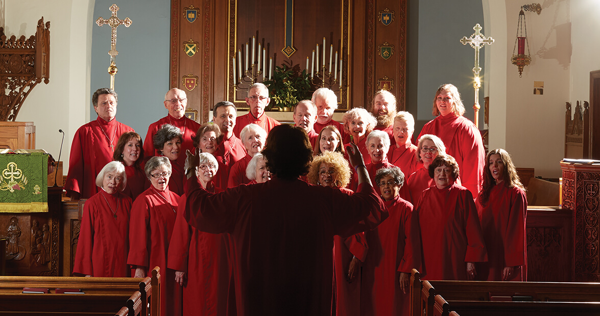 A Church Choir is a Symbol of Togetherness