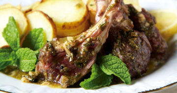 Rack of Lamb with Tarragon Lemon Sauce Recipe