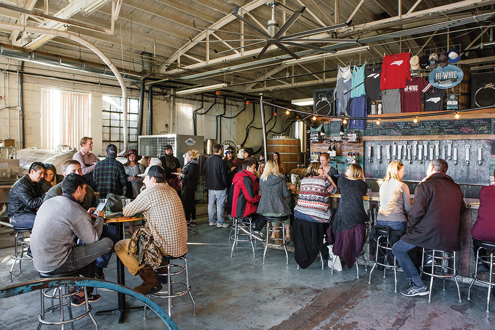 Hi-Wire Brewing Balances Old and New Methods