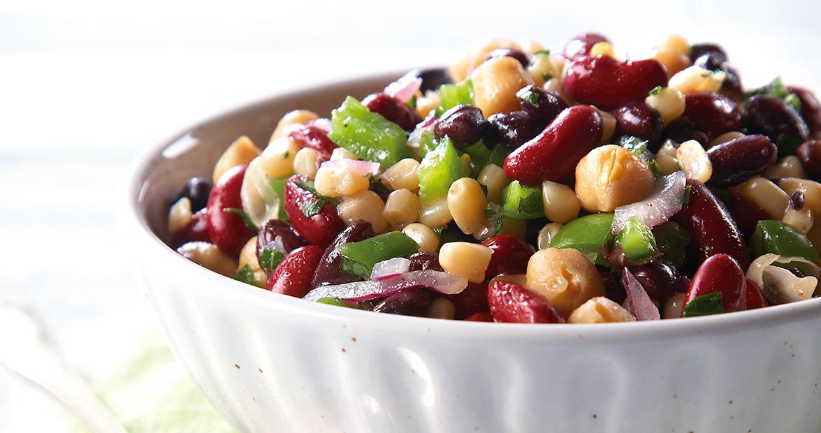 Three Bean Salad Recipe Apple Cider Vinegar