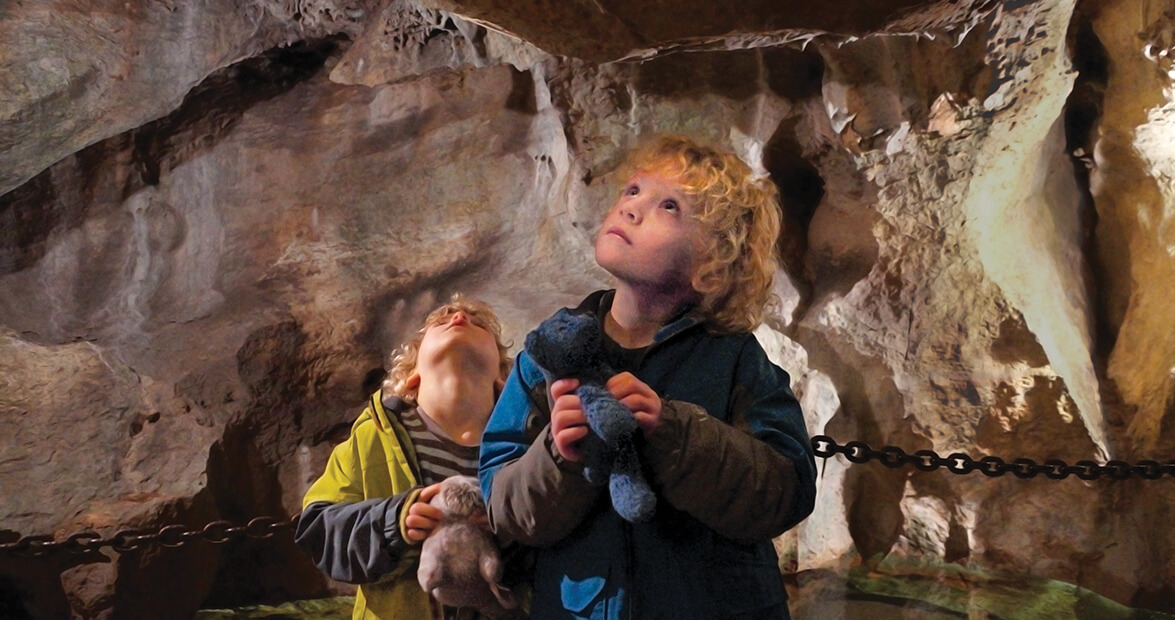 Family Tradition: Finding the Light in Linville Caverns
