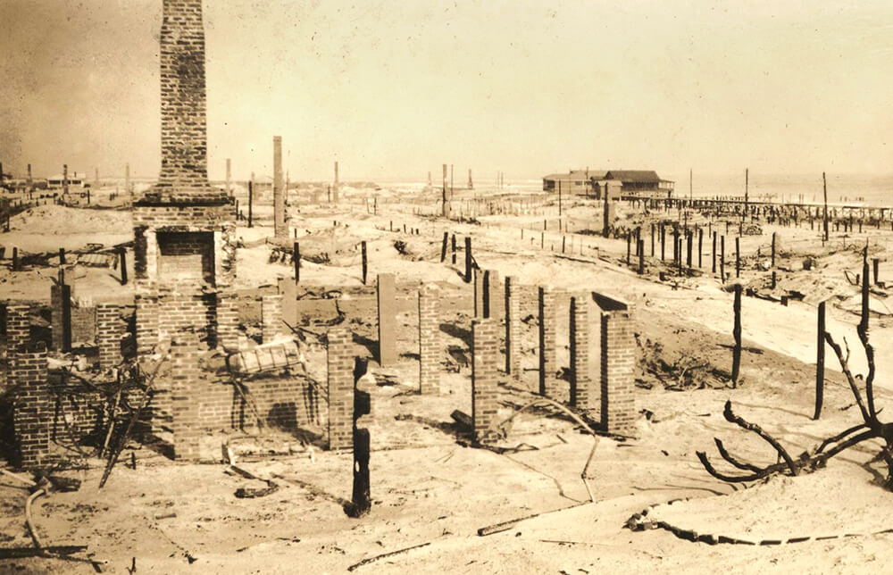 How the Great Fire of 1934 Changed Wrightsville Beach