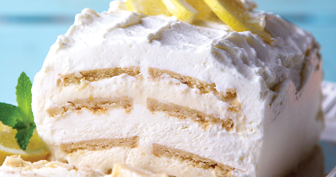 Lemon Icebox Cake Recipe