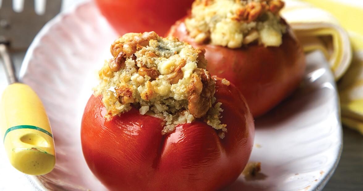 Stuffed Baked Tomatoes