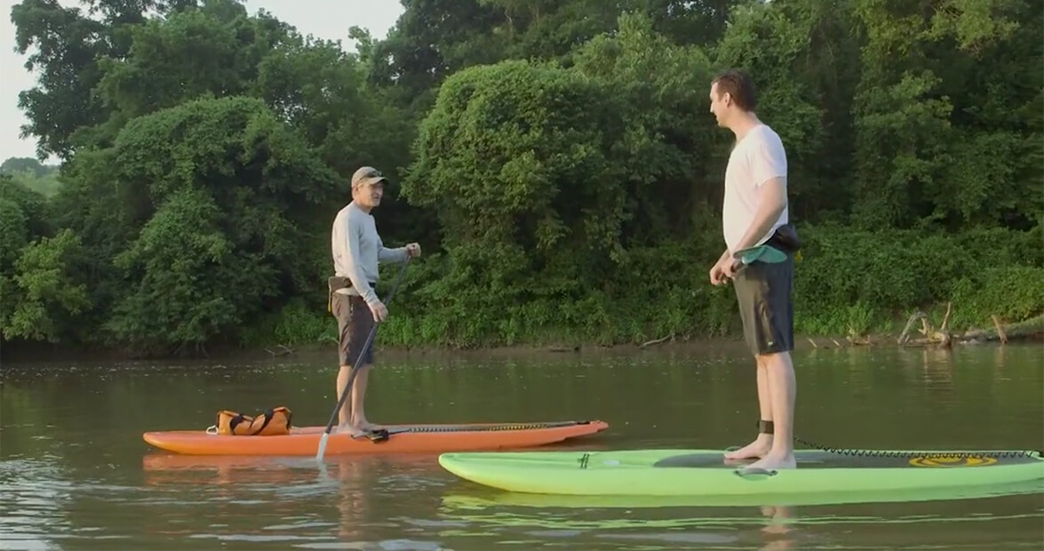 Best-Kept Secrets in Asheville: Wai Mauna Standup Paddleboard Tours