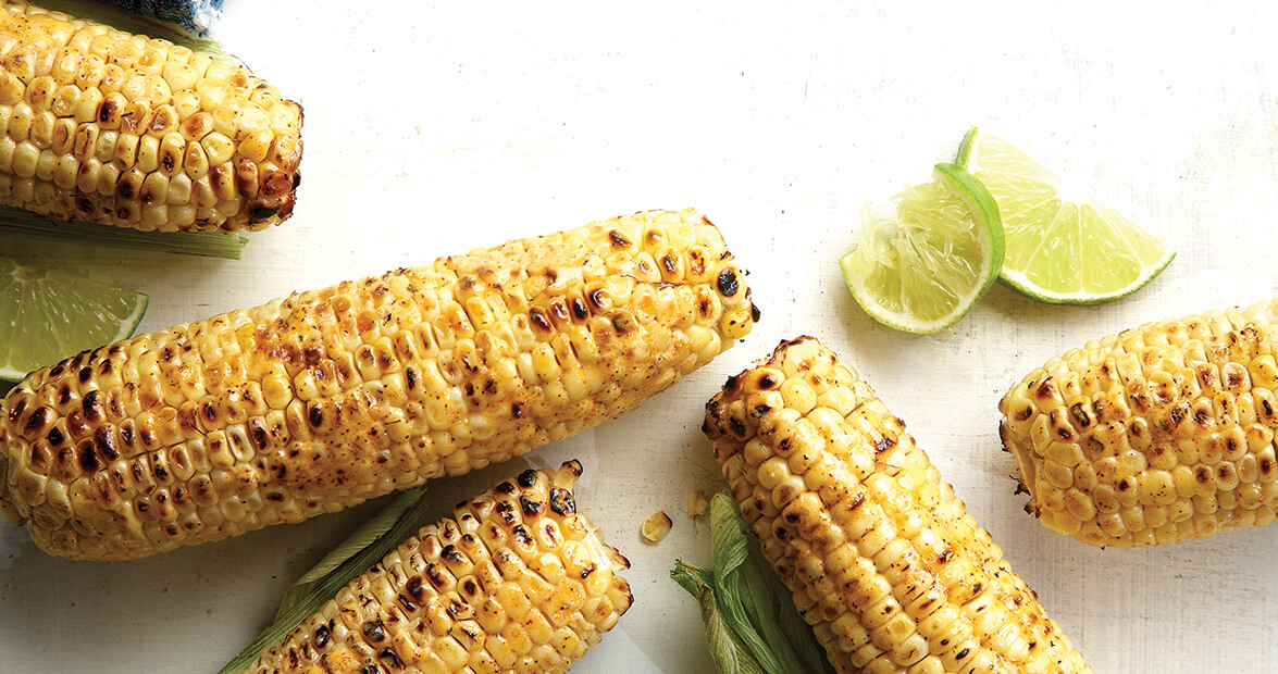 Grilled Corn with Chili-Cumin Butter