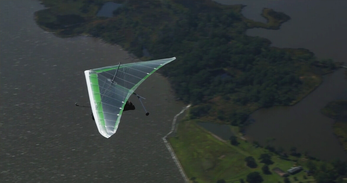 Hang Gliding in Currituck with Kitty Hawk Kites