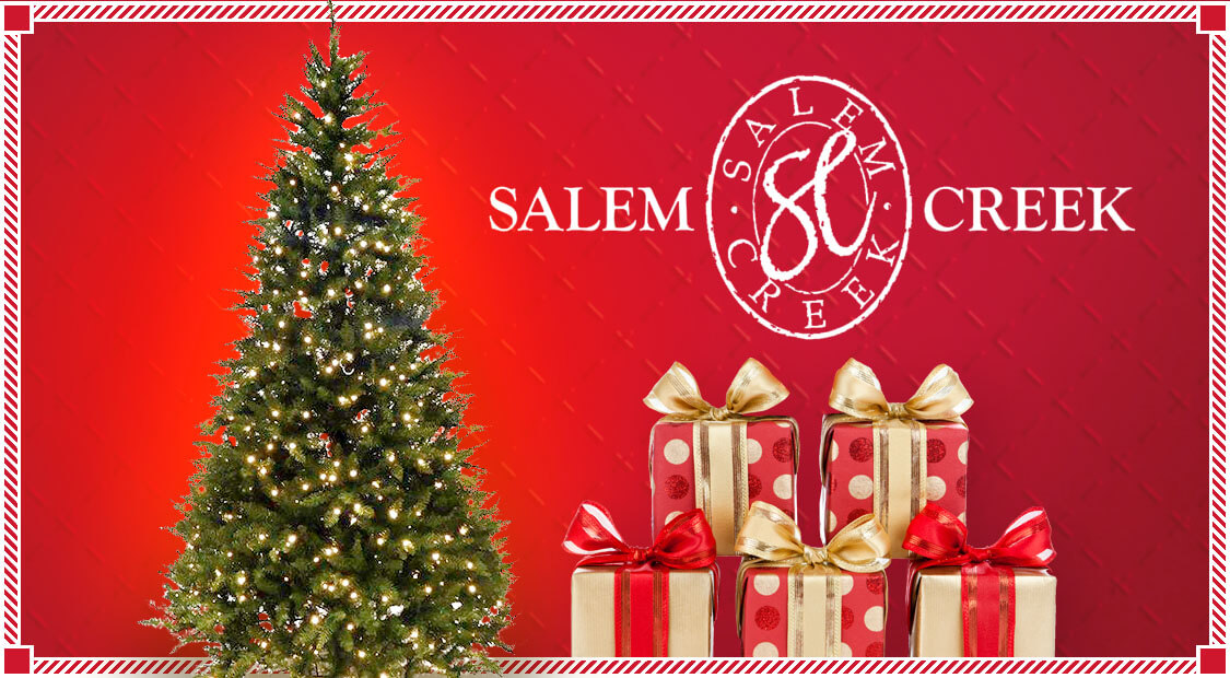 Salem Creek Christmas Tree Giveaway