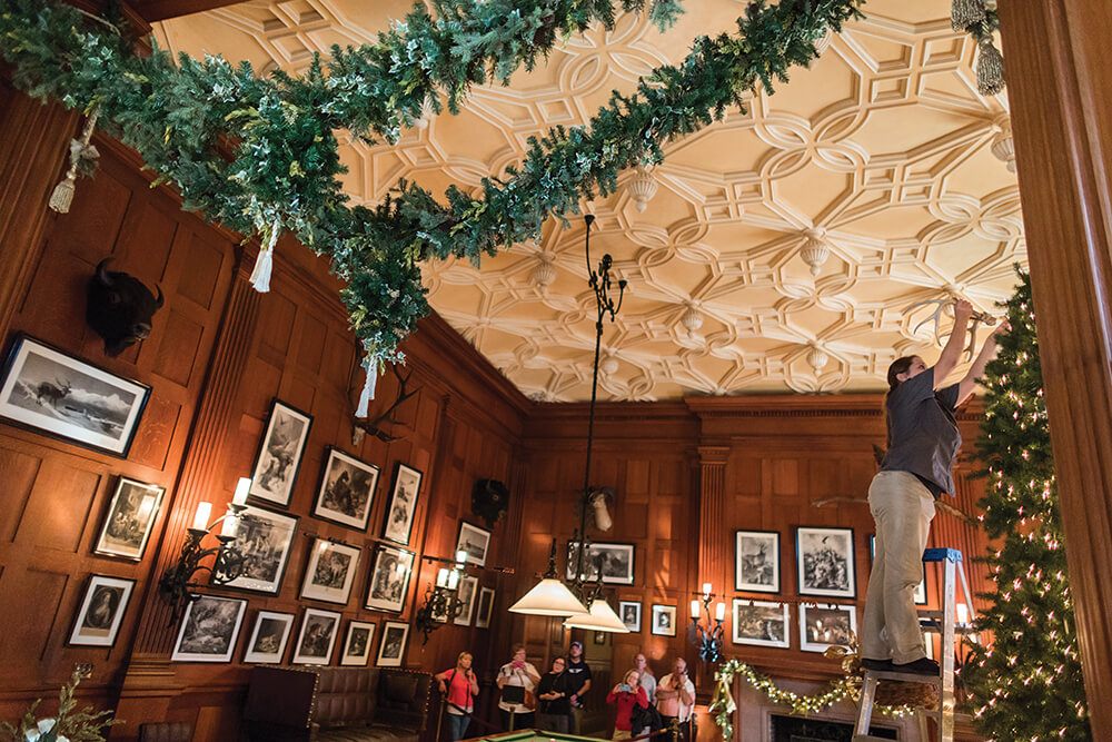 Biltmore Christmas.How Biltmore Decorates For Christmas Our State Magazine