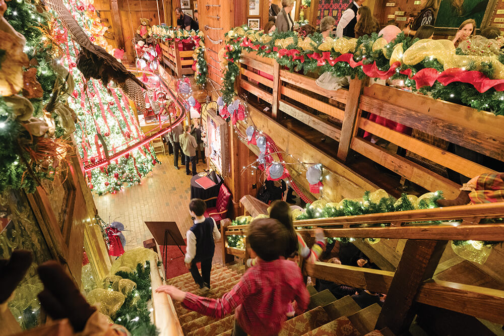 Christmas Memories At The Angus Barn Our State Magazine