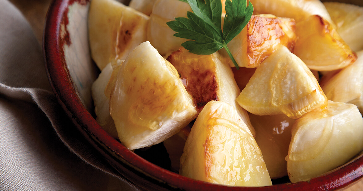 Roasted Turnips with Brown Butter