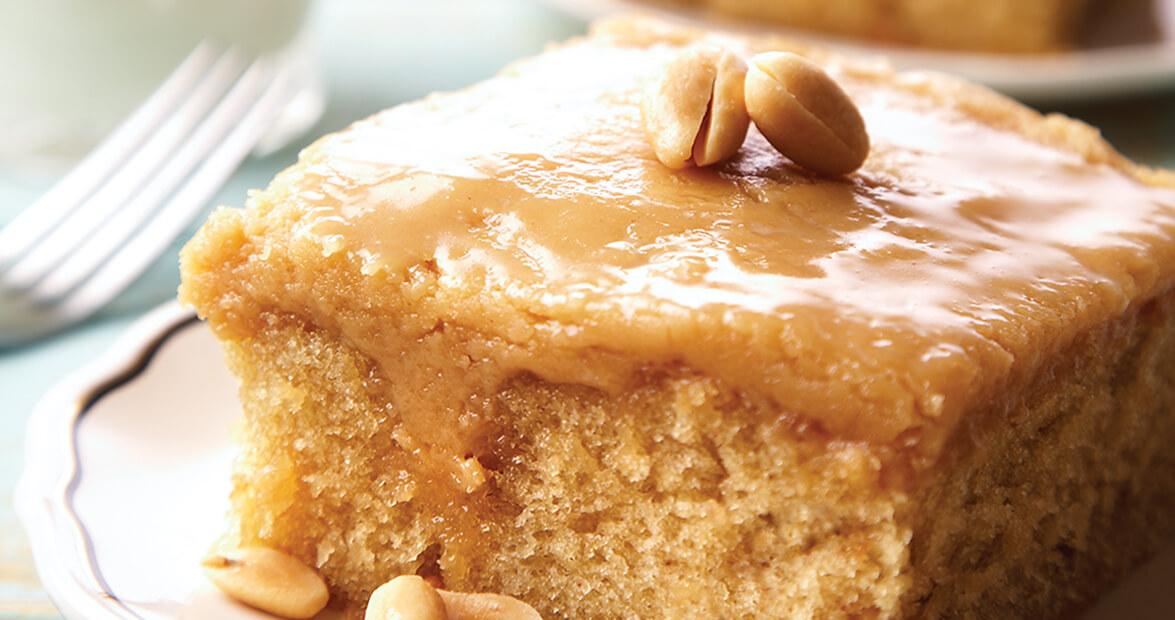 School Days Peanut Butter Cake