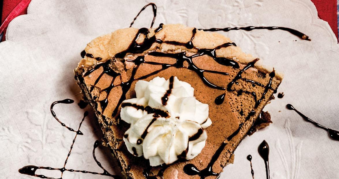 Legendary & Landmark Pies of North Carolina: Chocolate Chess Pie | Our State Magazine