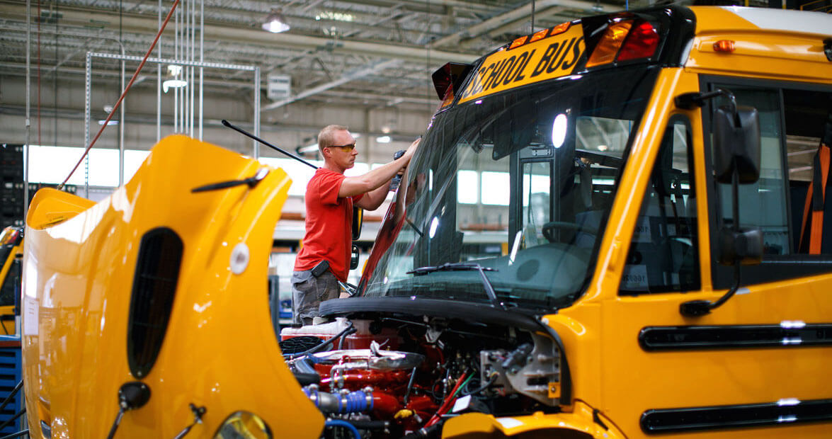 Thomas Built Buses >> Crafted In Carolina Thomas Built Buses Our State Magazine