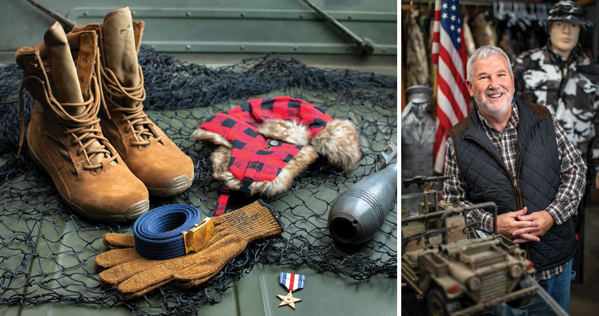 Uncle Sam's Closet: Delk's Army-Navy Surplus Store in Asheboro | Our