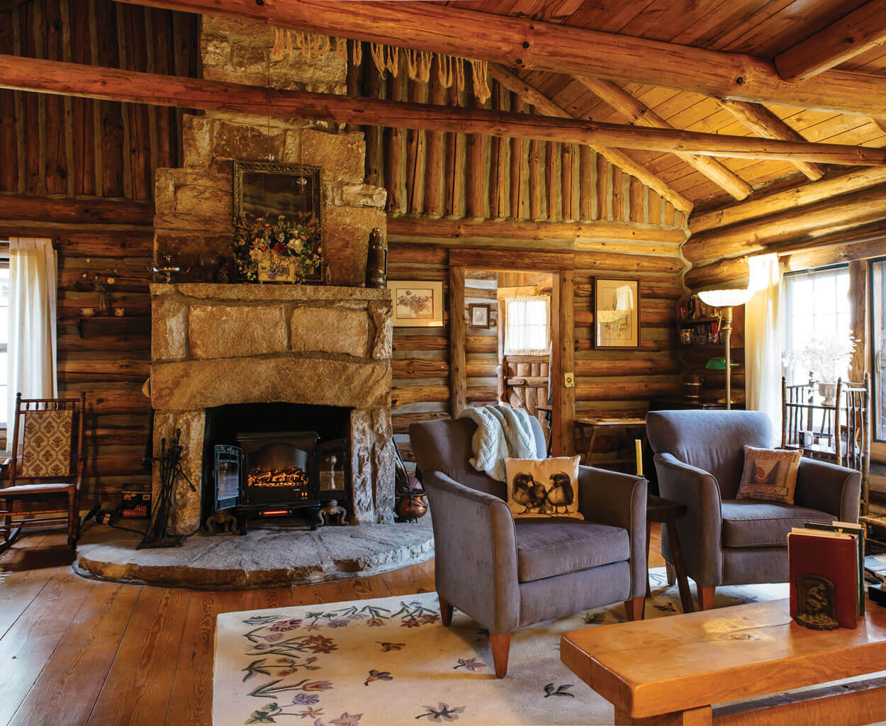 In Search Of Joe Webb Highlands Most Coveted Cabins Our