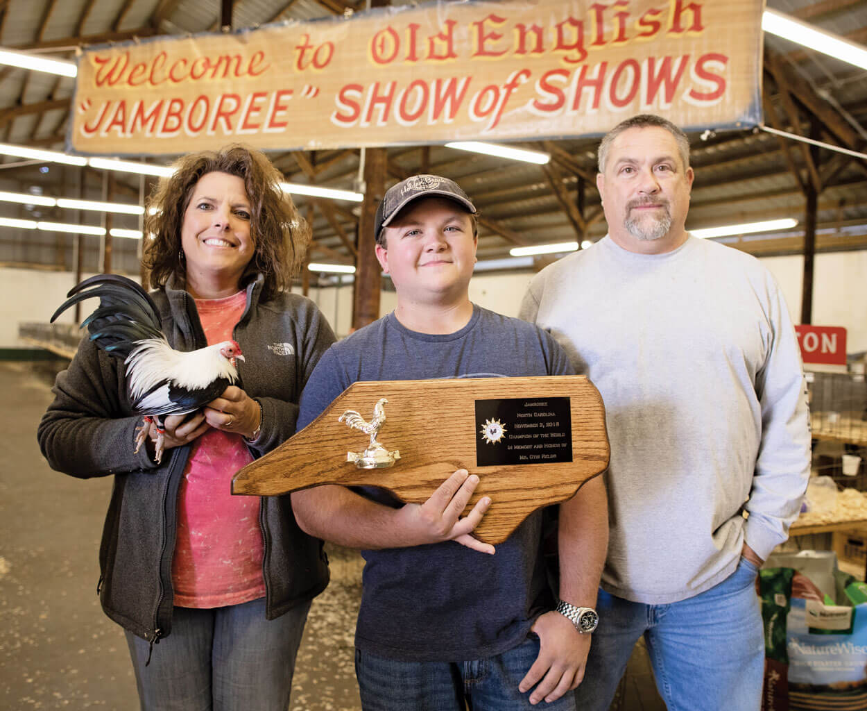 The Chicken Champs | Our State Magazine