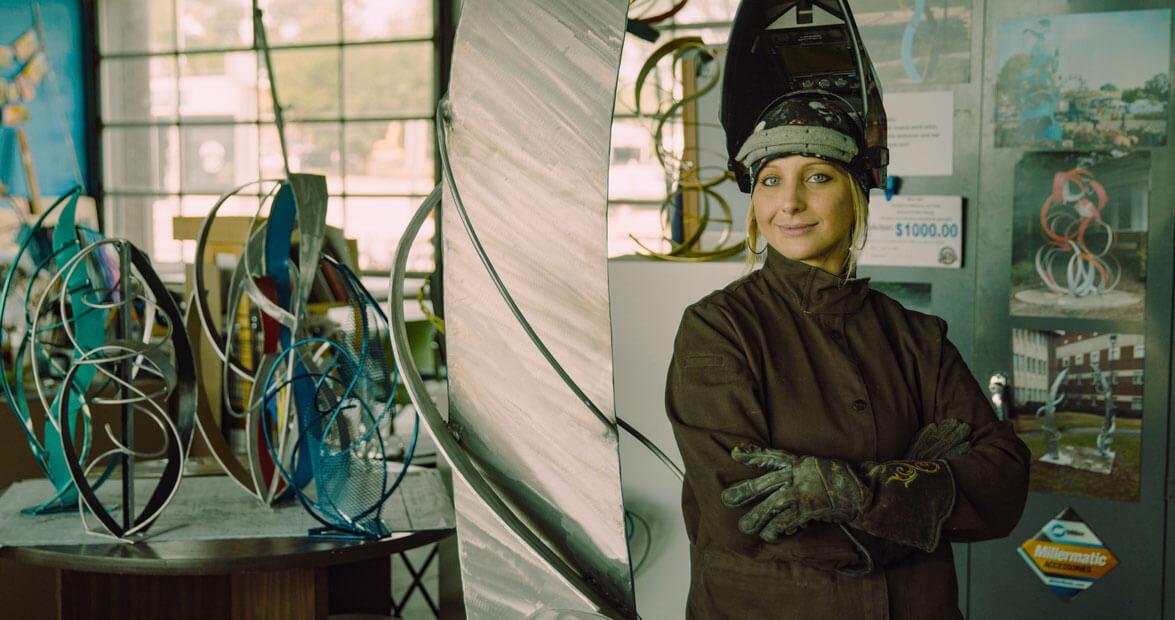 Meet the Maker: Parahdise Sculpture