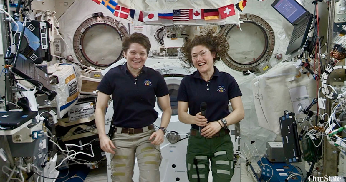 From North Carolina to the International Space Station