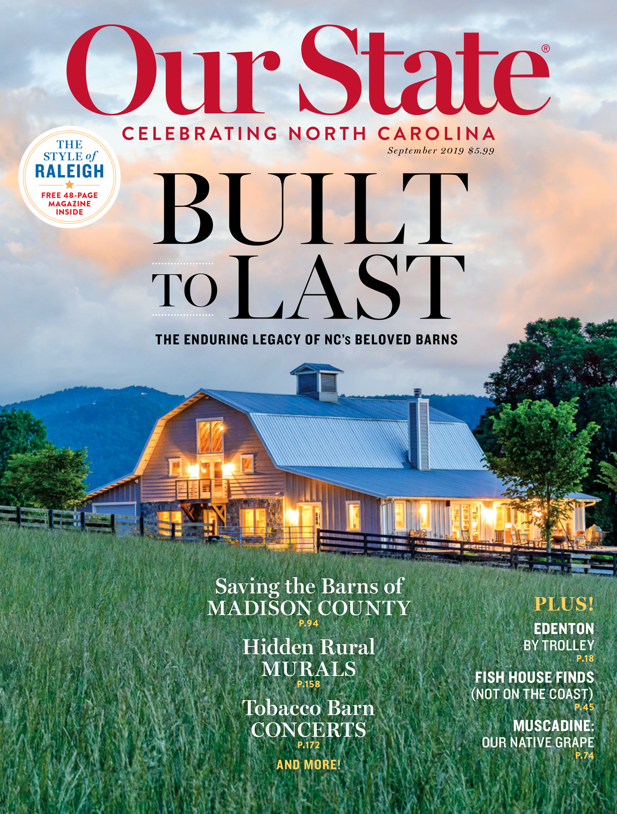 The September 2019 Issue Our State Magazine