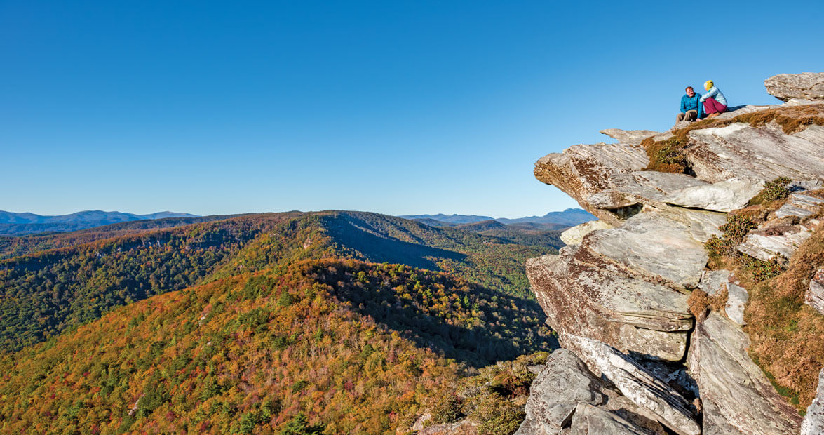 How to Find the Most Magnificent Views of Linville Gorge