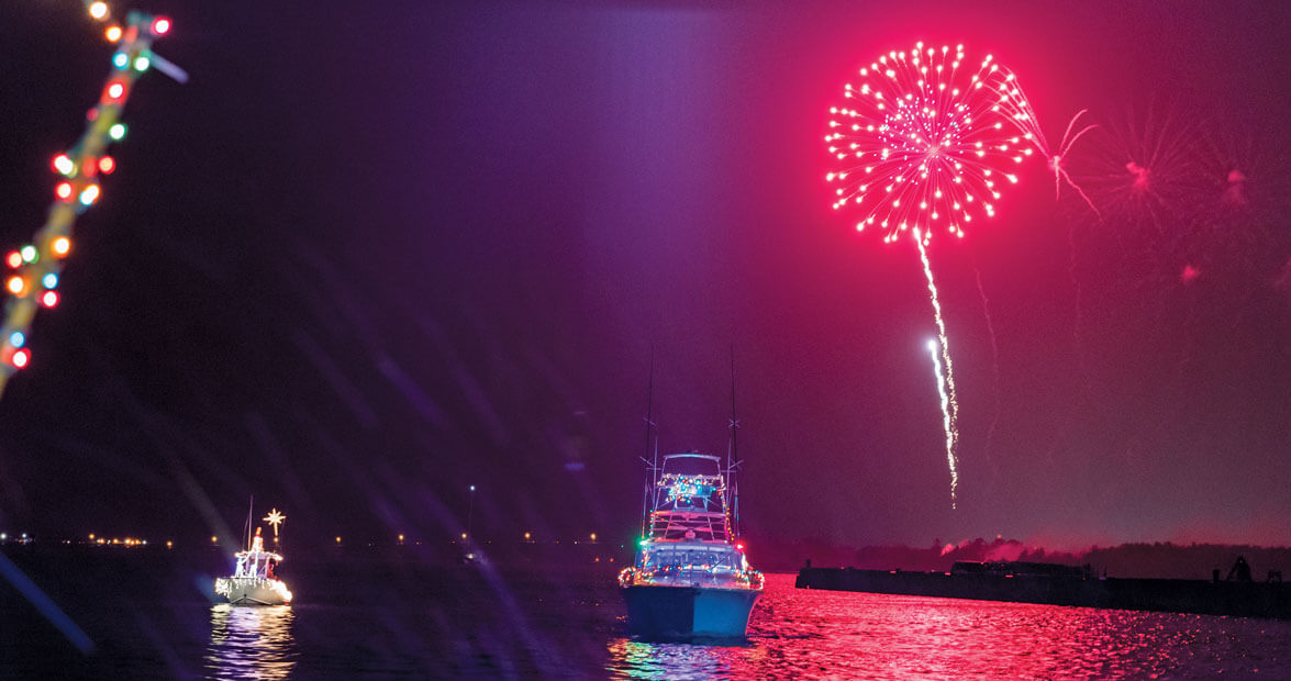 Starboards Of Wonder At The Crystal Coast Christmas Flotilla Our State